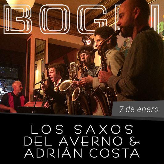 Los Saxos del Averno & Adrián Costa
